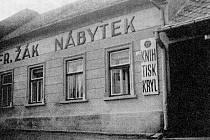 Tiskařství Karla Kryla st. po přesídlení do Kroměříže