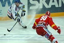 Hokejisté Slavie se pražským divákům představí v pátek i neděli.