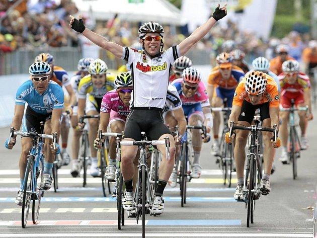 Ve 13. etapě Gira se z vítězství radoval mladý Brit Mark Cavendish.