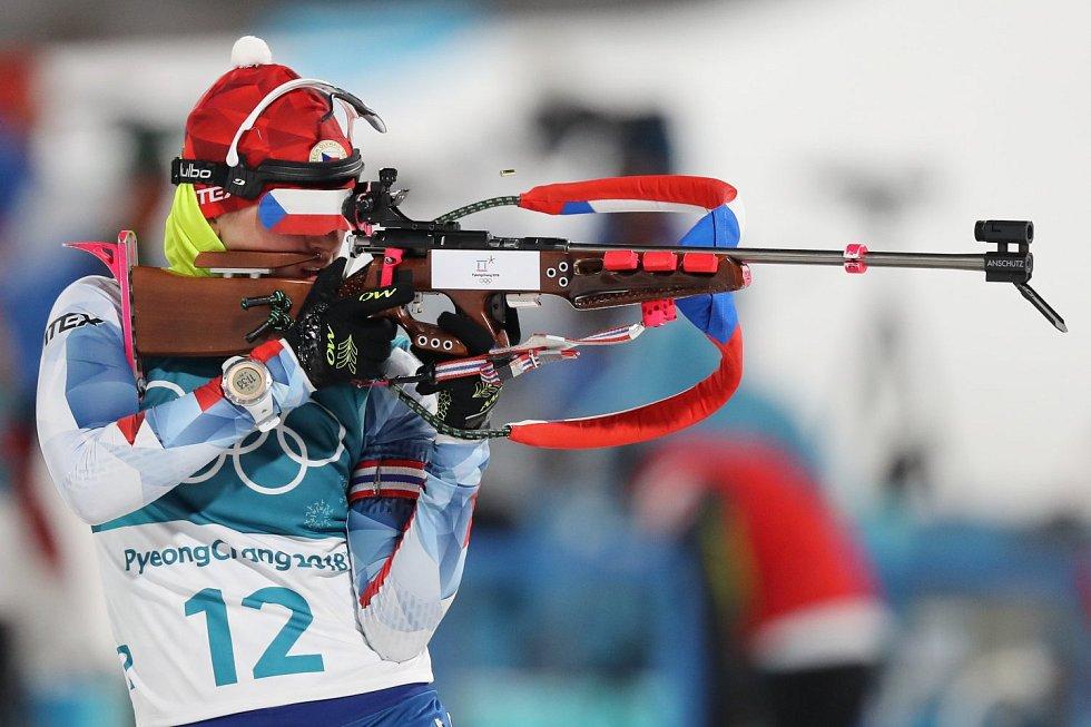 Biatlonistka Veronika Vítková na ZOH