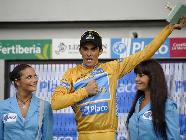 Alberto Contador jako král letošní Vuelty.