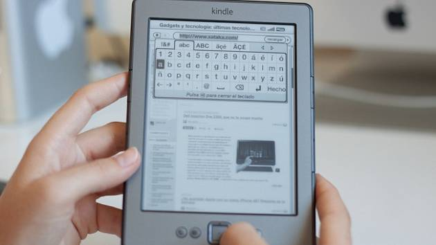 Čtečka elektronických knih.