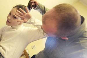 Domácí násilí na dětech - ilustrační foto