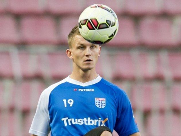 Tomáš Necid na tréninku Zwolle.