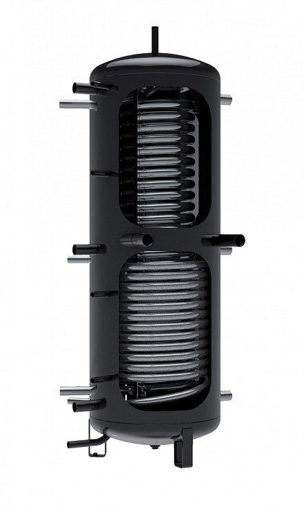 Akumulační nádrž ukládá dovody přebytky tepla vyrobené vjiném zdroji anásledně ji využívá vdomě.