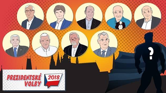 Kdo bude českým prezidentem?