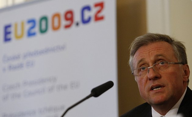 Mirek Topolánek představil priority českého předsednictví EU.