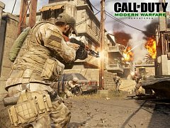 Počítačová hra Call of Duty: Modern Warfare - Remastered.