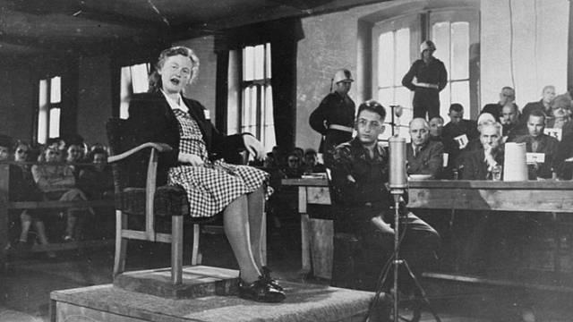 Ilse Koch u soudu