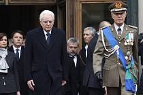 Nový italský prezident Sergio Mattarella dnes složil před členy dolní komory parlamentu slavnostní slib.