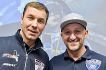 Piloti Martin Šonka (vlevo) a Petr Kopfstein