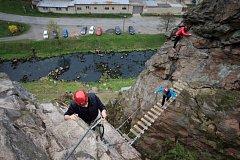 lezení ve Víru na Bystřicku