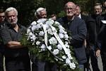 Ve Slušovicích na Zlínsku se 3. července 2019 konal pohřeb bývalého senátora a předsedy JZD Slušovice Františka Čuby. Zemřel 28. června ve věku 83 let