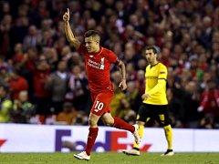 Liverpool otočil zápas s Dortmundem a slaví postup do semifinále Evropské ligy