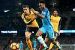 Manchester City versus Arsenal