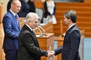 Marek Hilšer složil senátorský slib
