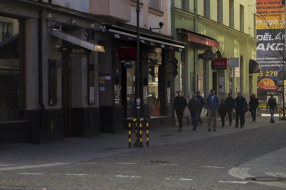 Ulice Stodolní, 4. března 2019 v Ostravě. Foto: Deník/ Iveta Dudková