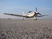 Letadlo typu Piper Sataroga - v podobném se zabil syn prezidenta Kennedyho