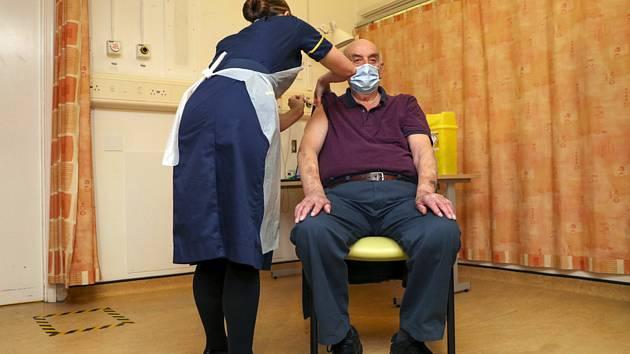 Očkování proti koronaviru v Oxfordu