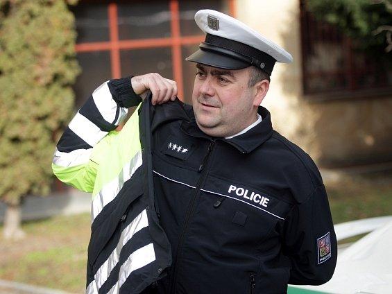 Nové uniformy si již vyzkoušeli dopravní policisté z Brna.