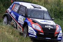 Roman Kresta na Rallye Bohemia.