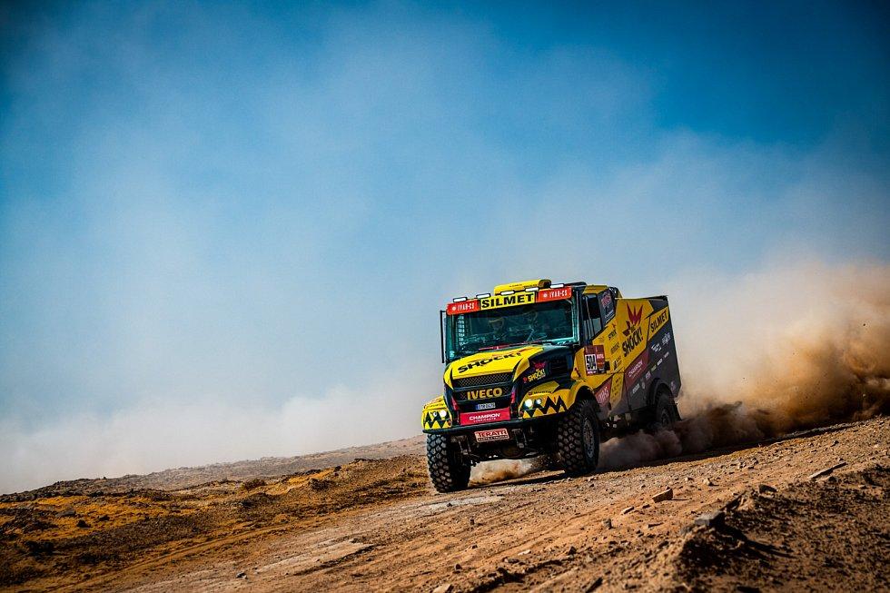 Martin Macík během páté etapy Rallye Dakar 2020