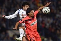 Snímek ze zápasu Liberce proti Seville v roce 2006.