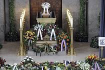 Rodina i přátelé se naposledy rozloučili s cyklokrosařem Radomírem Šimůnkem.