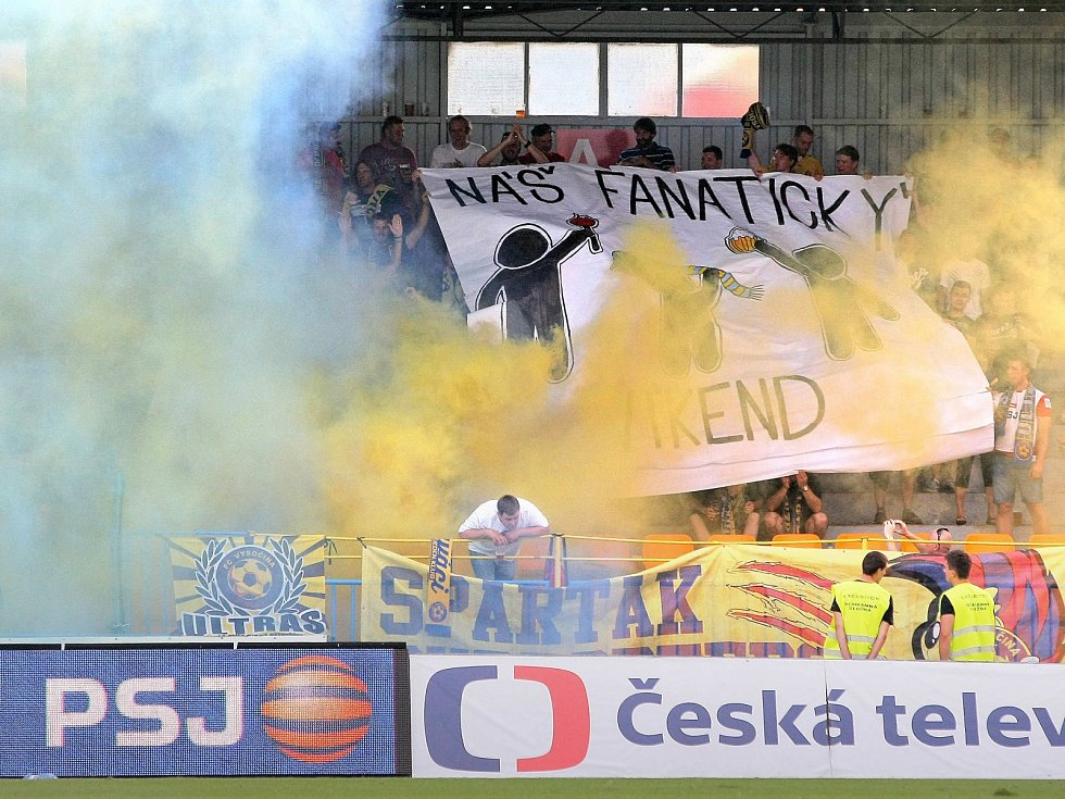 Fotbalové utkání FC Vysočina Jihlava vs. Sparta Praha