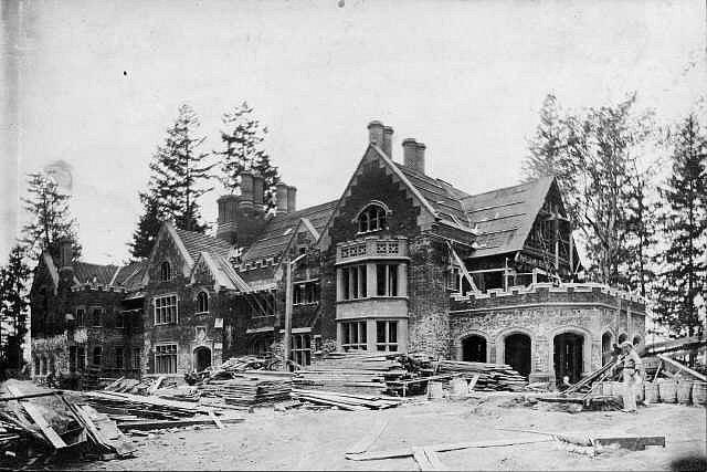 Stavba usedlosti Thornewood v americkém Washingtonu D.C.