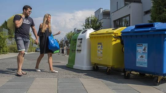Třídění odpadů (ilustrační snímek)