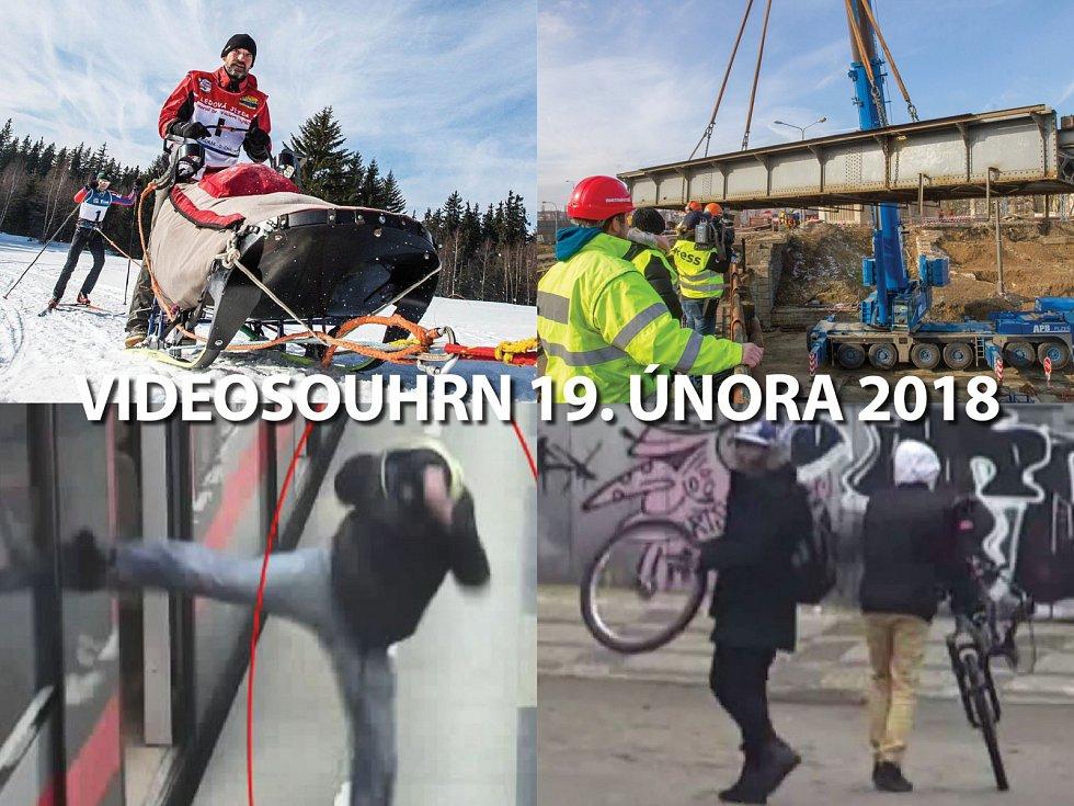 Videosouhrn Deníku – pondělí 19. února 2018