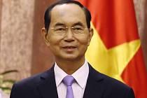 Vietnamský prezident Tran Dai Quang