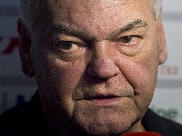 Vladimír Vůjtek na srazu hokejové reprezentace