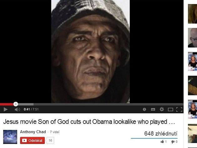 Z filmové verze seriálu The Bible zmizel satan podobný Obamovi.