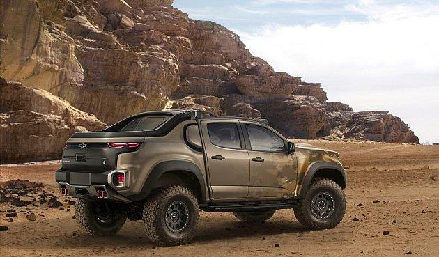 Chevrolet Colorado ZH2.