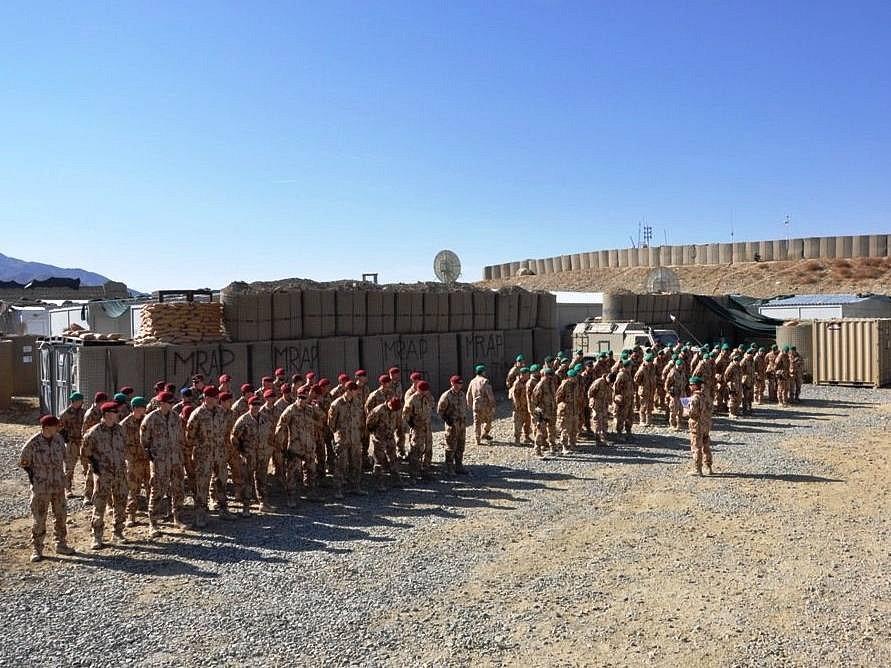 Česká jednotka v Afghánistánu. Ilustrační foto