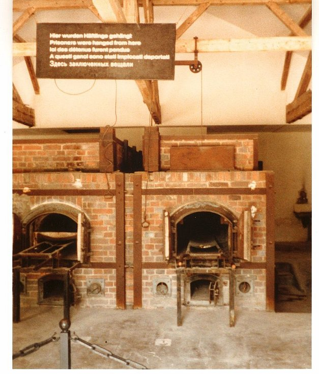 Krematorium v Dachau