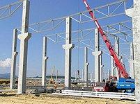 Stavba továrny Hyundai v Nošovicích - lakovna