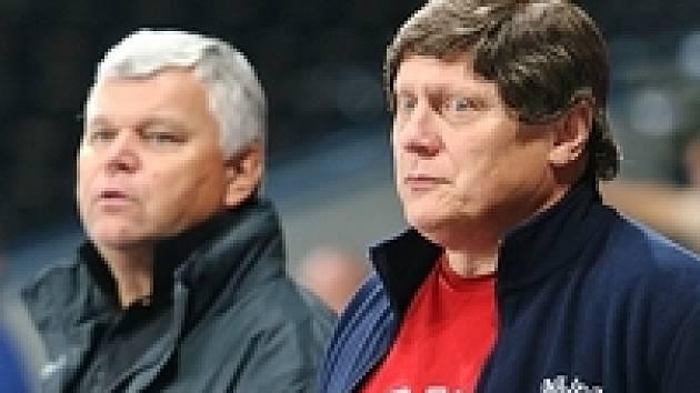Trenér hokejové Sparty František Výborný.