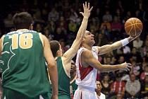 Basketbalisté Nymburka překvapivě nestačili v Jadranské lize na Lublaň.