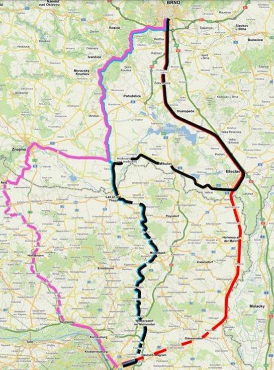 Transregio by mělo umožnit lépe využít její potenciál, tzn. obsluhovat místní průmysl, nabídnout cestujícím lepší služby, a především ulevit evropskému koridoru Vídeň – Břeclav – Znojmo.