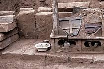 Místo nálezu údajných ostatků Buddhy.