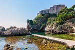 Pozorní fanoušci odhalí v Dubrovniku místo, které ve Hře o trůny představuje Černovodý záliv