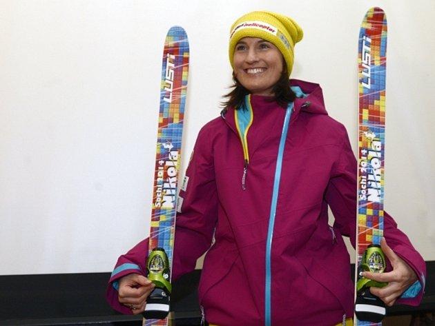 Akrobatická lyžařka Nikola Sudová.