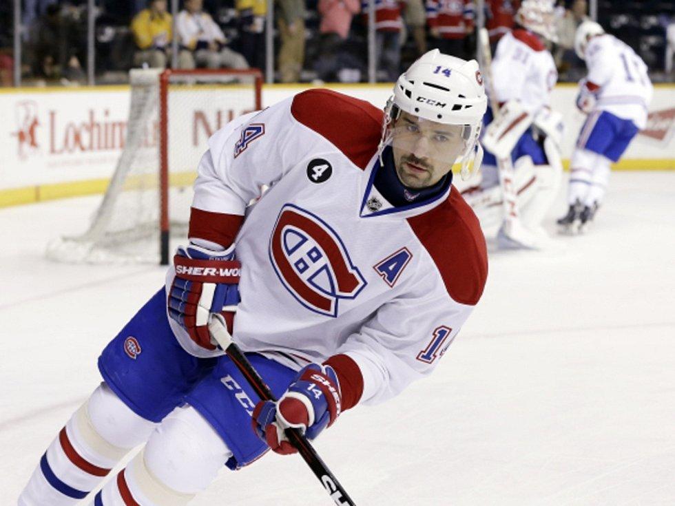 Tomáš Plekanec z Montrealu.