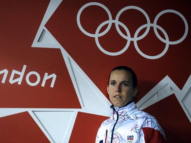 Stolní tenistka Iveta Vacenovská na olympijských hrách v Londýně.
