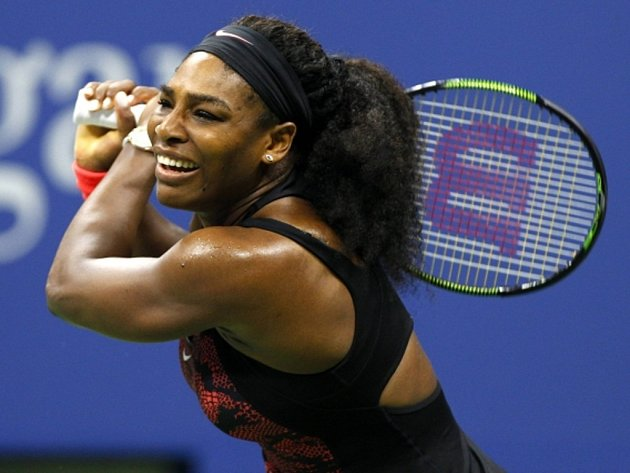 Serena Williamsová na US Open.