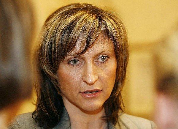 Bývalá chomutovská primátorka Ivana Řápková (ODS).
