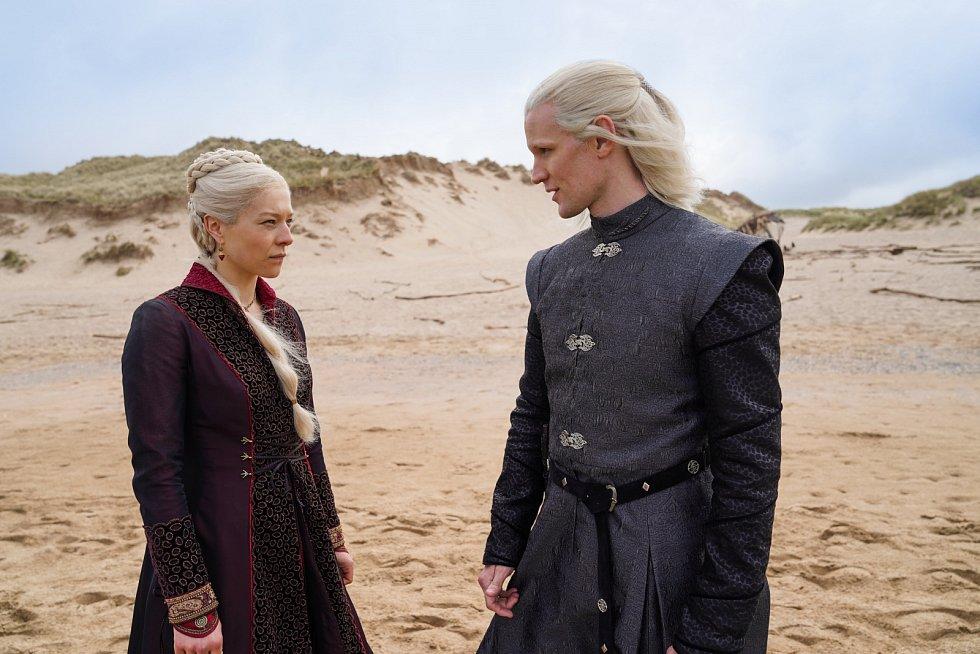 Rhaenyra Targaryen a Daemon Targaryen
